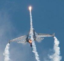 """Eine """"heisse"""" Show: F-16AM Fighting Falcon der belgischen Luftwaffe."""