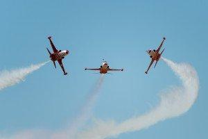 NTM 2015 (Konya, LTAN): Türk Yıldızları mit F-5A und F-5B Freedom Fighter