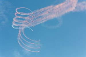 Air '14 (LSMP): The RAF Falcons Parachute Display Team