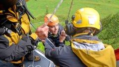 REGA-Rettungsübung