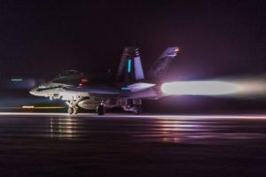 F/A-18C TOF mit Nachbrenner LSMM