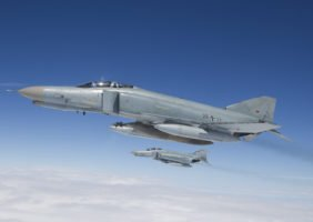 GAF F-4F Phantom - Interception exercise