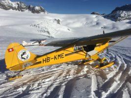 Gletscherflugzeug Aviat Husky HB-KME