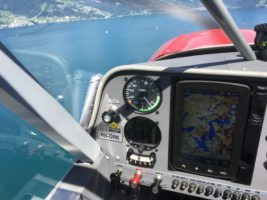 Aus dem Cockpit der HB-ORK
